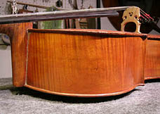 Cello rib repaired