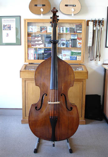 Daugherty Violin Shop | 1920's Tyrolean Bass